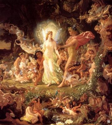 ma Paton The Quarrel of Oberon and Titania