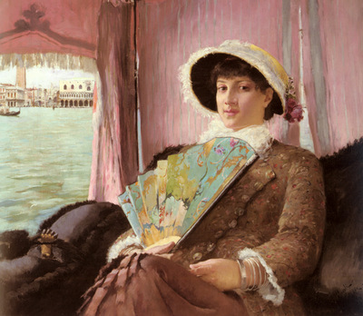 Pauli Georg Girl In A Gondola