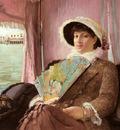 Pauli Georg Girl In A Gondola