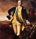 Peale Charles Willson George Washington At Princeton