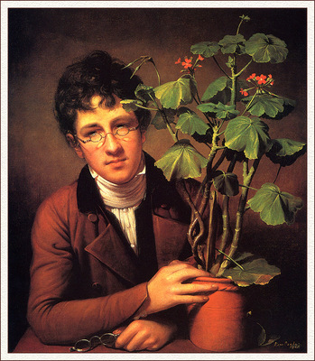 bs ahp Rembrandt Peale Rubens Peale With A Geranium