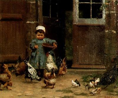 Paul Peel Dejeuner, Bretagne, De