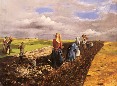 Pentelei Molnar Janos The Potato Harvest