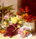 Perrachon Andre Chez la Marchande De Fleurs