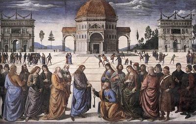 Cristo consegna le chiavi a San Pietro