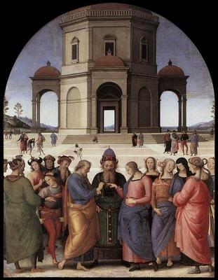perugino Sposalizio della Vergine