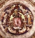 perugino pietro god the creator and angels 1507