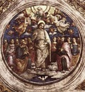 perugino pietro the holy trinity and the apostles 1507