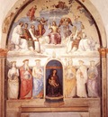 perugino pietro trinity and six saints