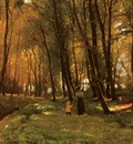 Petersen Edvard Frederik A Walk In The Woods
