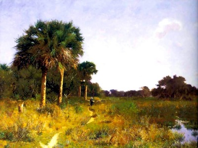 midwinter florida william lamb picknell 1894 fl art csg006
