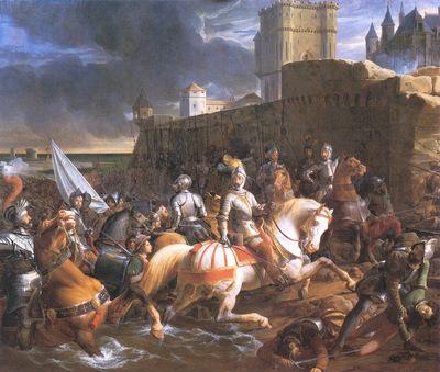 Picot Francois Eduoard Die Einnahme von Calais