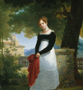 Picot Francois Eduoard Portrait of Adelaide Sophie Cleret c1817