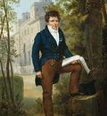 Picot Francois Eduoard Portrait of Nicholas Pierre Tiolier c1817
