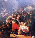 Pieneman Nicolaes Admiral de Ruyter mortally wounded Sun