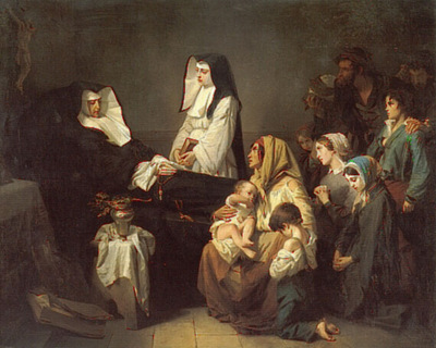 The Death of a Sister of Charity