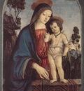 pinturicchio la vergine e il bambino