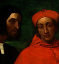 piombo,del cardinal bandinello sauli, his secretary, and t