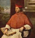 Sebastiano del Piombo Portrait of Antonio Cardinal Pallavici