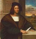 Sebastiano del Piombo Portrait of a man, ca 1515, 115x94 cm,