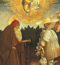 Pisanello The Virgin and Child with Saints George and Anthon
