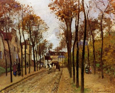 Pissarro Camille Boulevard des Fosses Pontoise