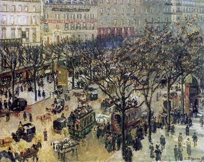 Pissarro Camille Boulevard des Italiens Sun