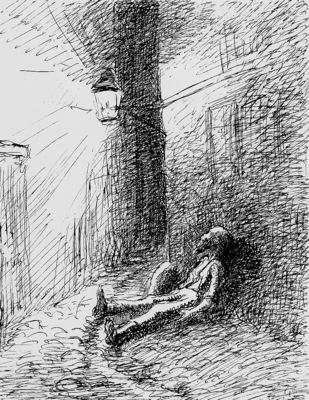 Pissarro Camille Poor John Sun