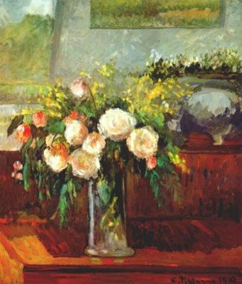 pissarro roses