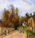Pissaro Camille The diligence Sun