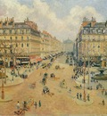 Pissarro Avenue de lOpera  Morning Sunshine, 1898, 65x81 cm