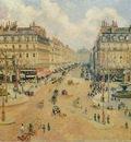 Pissarro Avenue de lOpera  Morning Sunshine, 1898, 65x81 cm