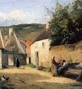 Pissarro Camille Jacob Coin de village Sun