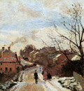 Pissarro Camille Lower Norwood Sun