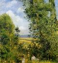 Pissarro Camille Resting in the woods Pontoise Sun