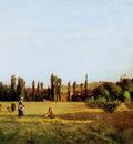 Pissarro Camille Varenne Saint Hilaire Sun