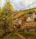 Pissarro Camille View on Ermitage Sun