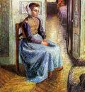 Pissarro Camille Young Flemish maid Sun