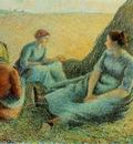 Pissarro Haymakers resting, 1891, 65 4x81 3 cm, McNay Art In