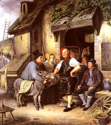 Pistorius Eduard Karl Gustav Lebrecht A Vist To The Farriers