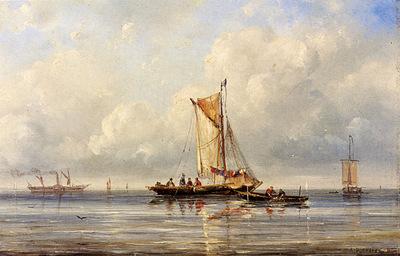 Pleysier Ary Fishing In A Calm
