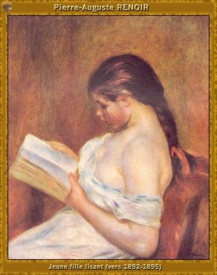 po par 230 jeune fille lisant 1892