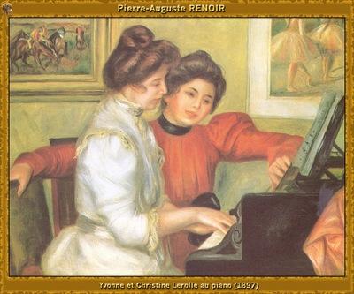 po par 252 yvonne et christine lerolle au piano