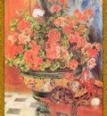 po par 156 geraniums et chats