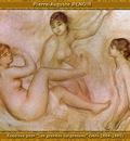 po par 184 esquisse pour les grandes baigneuses 1884