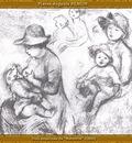 po par 194 trois esquisses de maternite