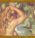 po par 225 jeune fille attachant ses cheveux 1892