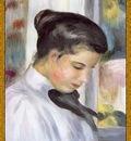 po par 254 portrait dune jeune femme de profil