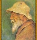 po par 296 autoportrait au chapeau blanc