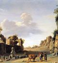 Poelenburgh van Cornelis Campo Vaccino Sun